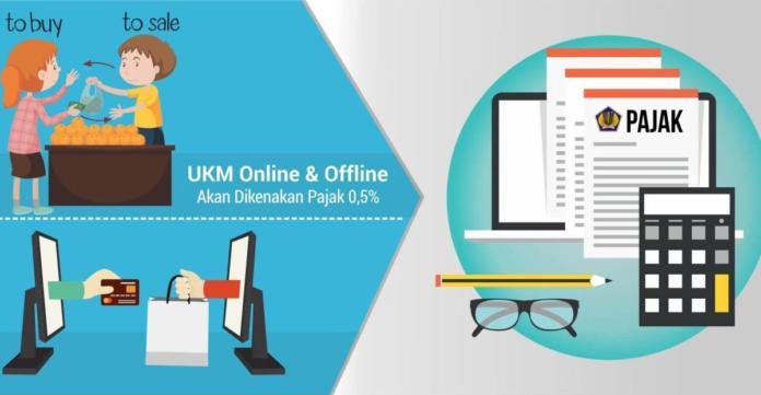UKM Online & Offline Akan Dikenakan Pajak 0,5%
