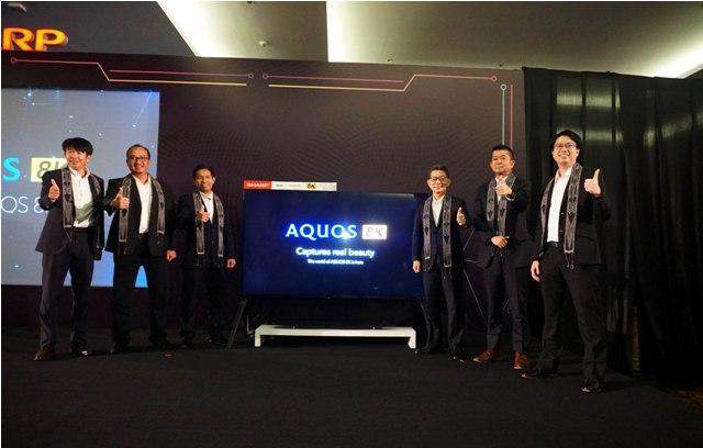SHARP Indonesia Luncurkan Aquos 8K di Tahun 2019