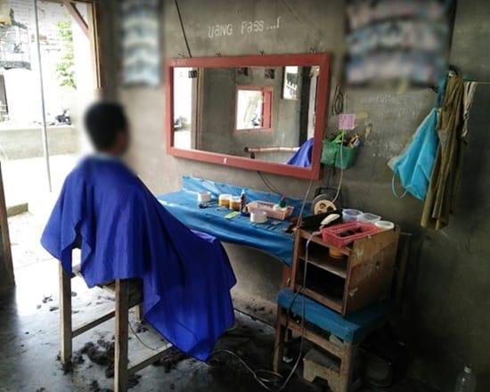 Peluang usaha Potong Rambut di Desa
